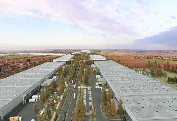 e-valley logistics hub