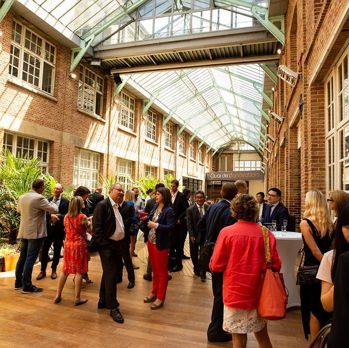 Quai de l'innovation Amiens, Industries créatives Hauts-de-France