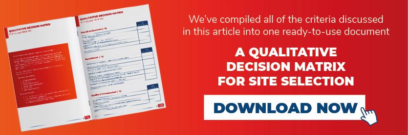 Download the qualitative decision matrix
